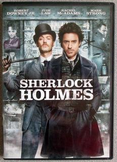 Dvd Sherlock Holmes / Jude Law / Robert Downey Jr.