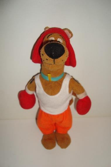 Scooby-doo Boxe Boxeador Pelucia +- 19 Cm Usado