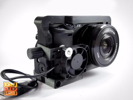 Cage Gaiola + Cooler Para Sony A6300 A6000 Nex7