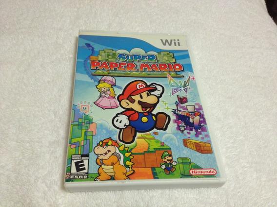 Super Paper Mario (nintendo Wii, 2007) Completo