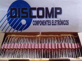 Resistor 0r47 5w - Caixa Com 500 Peças