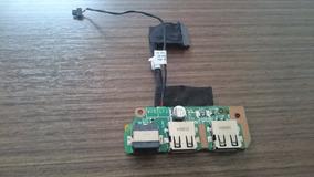 Placa Conector Usb E Modem Notebook Infoway W7415