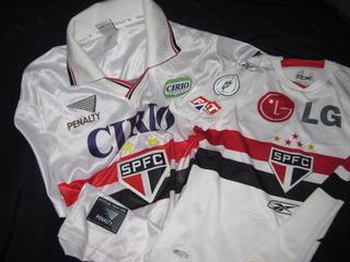 Camisas São Paulo Futebol Clube - 2 Masc/fem - Conservadas