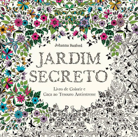 Jardim Secreto Livro De Colorir