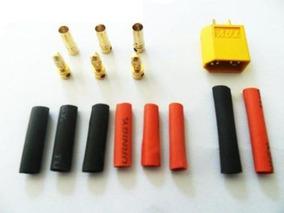 Kit Conectores Esc+ Motor+ Bat+ Retrátil Xt60 Original