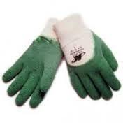 Luva De Segurança Verde E Branca Confortex 12 Prs Barato
