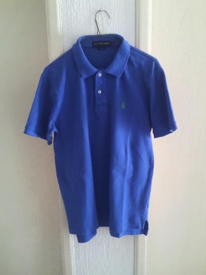 Playera U.s. Polo Assn. Azul. Talla M. 100% Original.