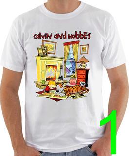 Camiseta Calvin E Haroldo - Calvin And Hobbes - Hqs