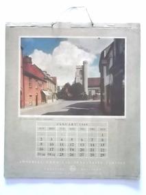 Calendário De 1949 Inglaterra Completo 26x29cm