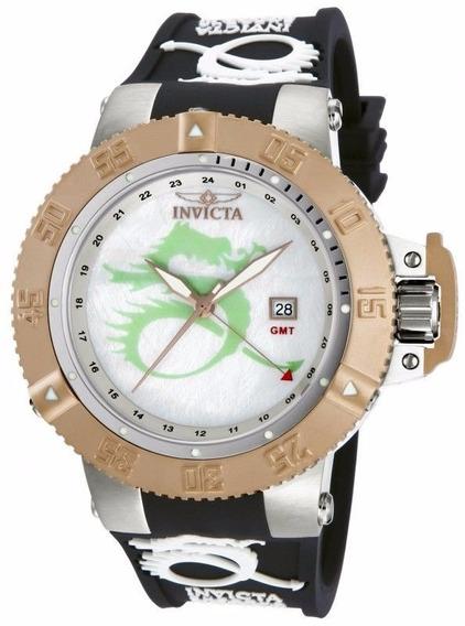 Relógio Invicta 13913 Subaqua Sport Dragon Gmt !!!!