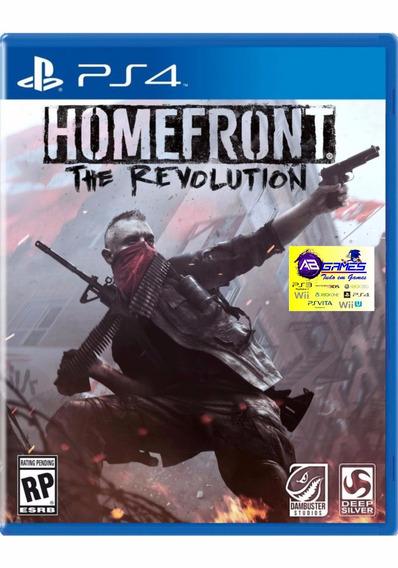Homefront The Revolution Ps4 Original Novo Lacrado Ab Games