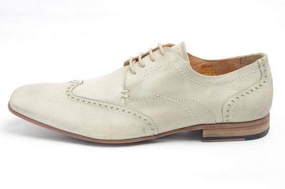 Zapato Democrata Hombre Cuero Sumer Italia 048001001 Cuotas