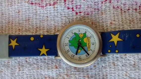 Relógio De Pulso Infantil Tabaluga Funcionando Bem.
