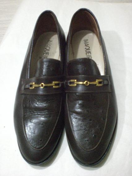 Zapatos De Cuero Num 40 *