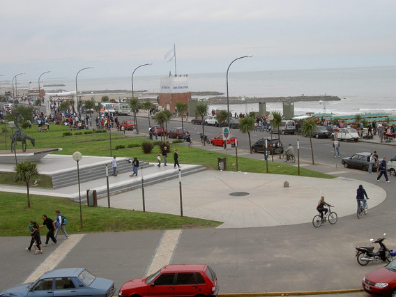 Alquiler La Perla , Mar Del Plata , Departamento, Fte Al Mar