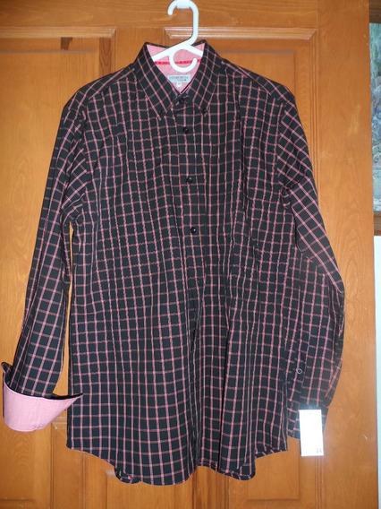 Camisa Casual Caballero Cosmo&co Mediana