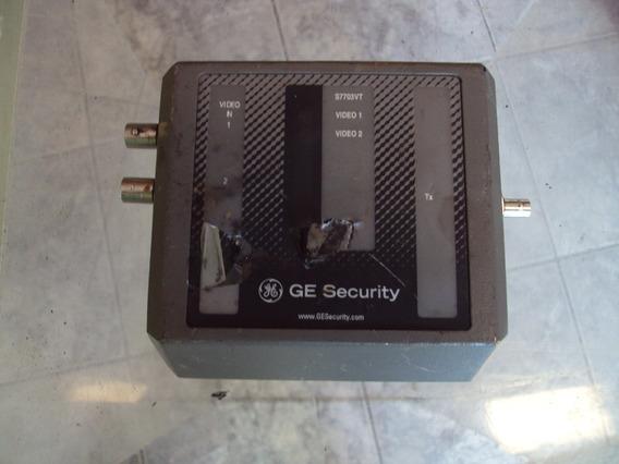 Ge Security S7703vt-est Sm - 2 Canais De Vídeo No Estado!!