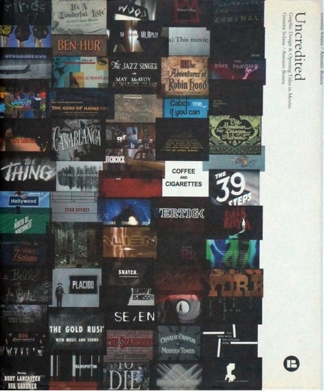 Uncredited Graphic Design & Opening Titles In Movies - Livro