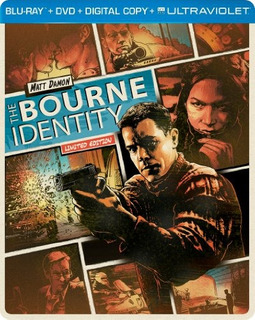 Blu-ray : The Bourne Identity (limited Edition, Steelboo...