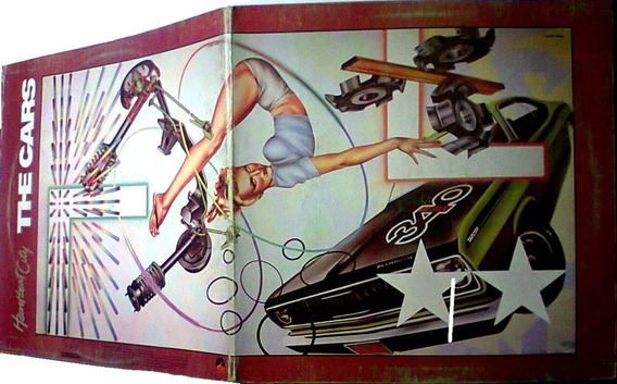 The Cars Heart Beatcity Lp 80
