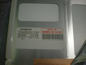 Hitachi Tx34d62vc1cad Z Lcd Ccfl Backlit (13 ) Tx34d62vc1cad