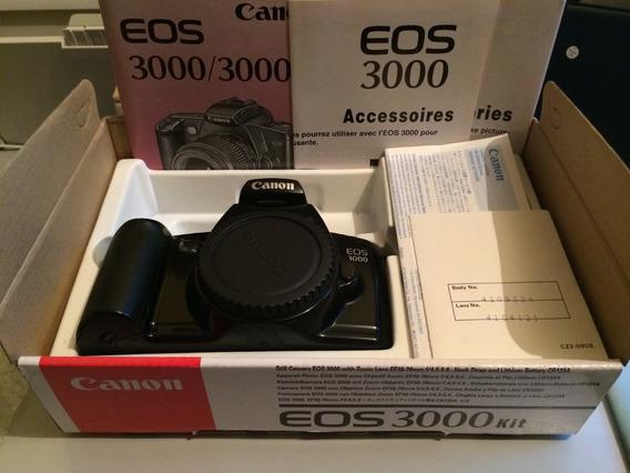 Canon Eos 3000 Na Caixa