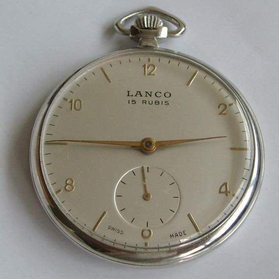 Relógio De Bolso Lanco - 15 Rubis!!