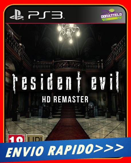 Resident Evil Hd Ps3 Cód Psn Midia Digital Envio Rapido