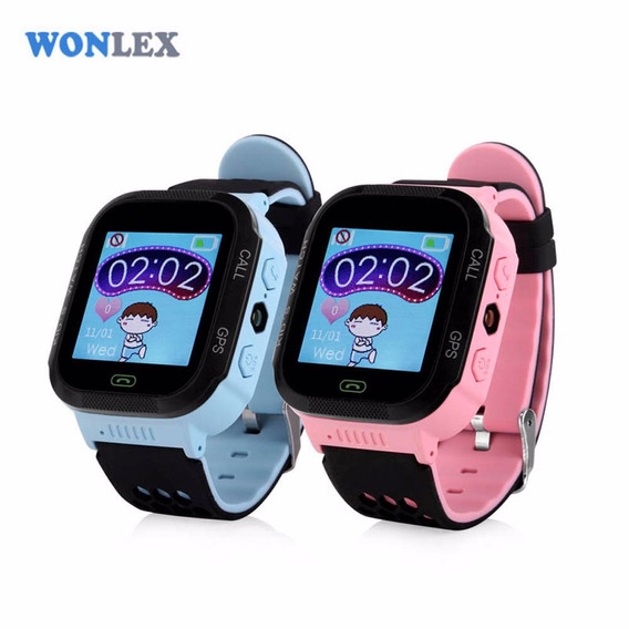 Smart Watch Para Niños Reloj Rastreador, Gps Y Celular