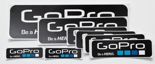 Adesivos Gopro Hero 6 Unidades Go Pro Hero 3 Cada Tamanho 2x