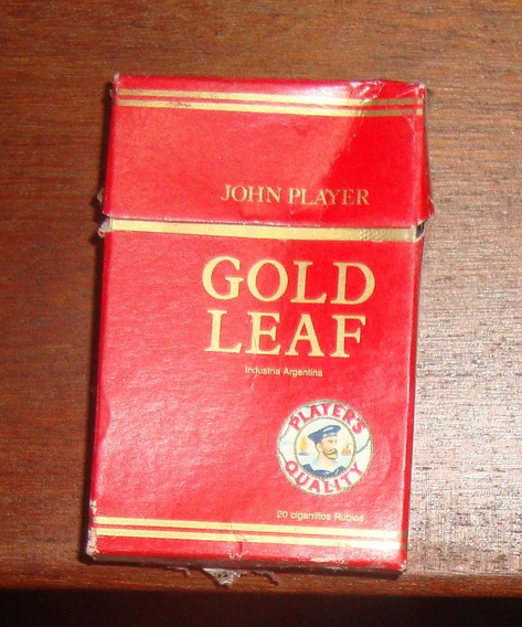 Cja De Cigarrillos Gold Leaf