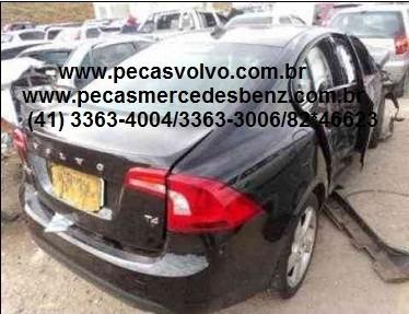 Volvo S60 2012 T4 T5 1.6 Turbo Batida Para Tirar Peças/motor