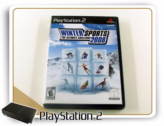 Ps2 Winter Sports 2008 Original Playstation 2
