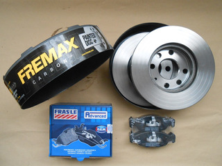 Kit Discos Fremax Pastillas Frasle Chevrolet Classic Agile
