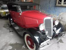 Ford Phaeton 1934 Ñ Opala Dodge Maverick Fusca Hot Volks