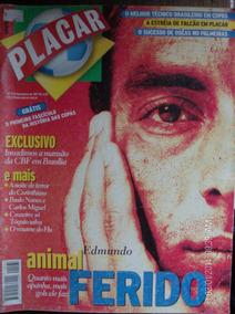Revista Placar N- 1133 Edmundo Cbf Palmeiras Falcão