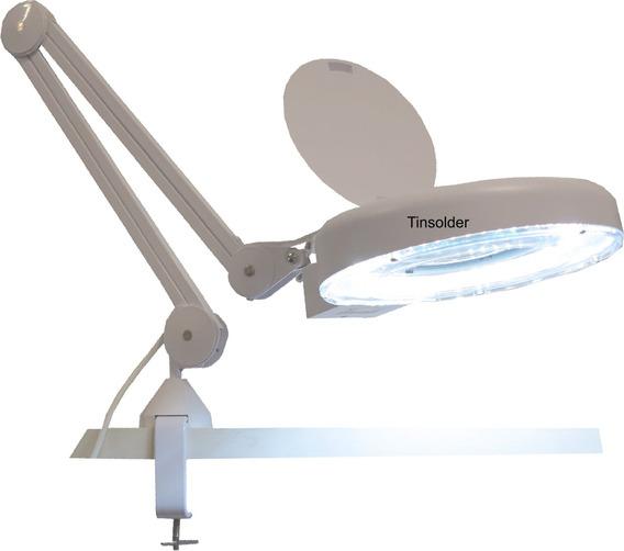 Lupa Luminária Led Hikari 8x Bivolt Eletronica Estética