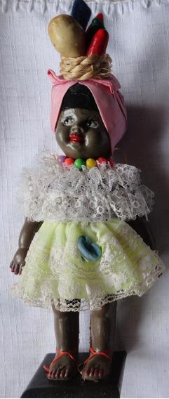 Boneca Com Trajes Típicos Africanos - A3
