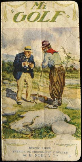 Publicidad Antigua Librito De Cuentitos Noel Mi Golf
