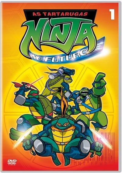 As Tartarugas Ninja No Futuro 1 - Dvd - Tmnt - Fast Foward