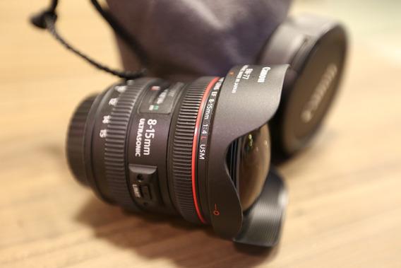 Lente Canon Ef 8-15 Mm F/4 Fisheye