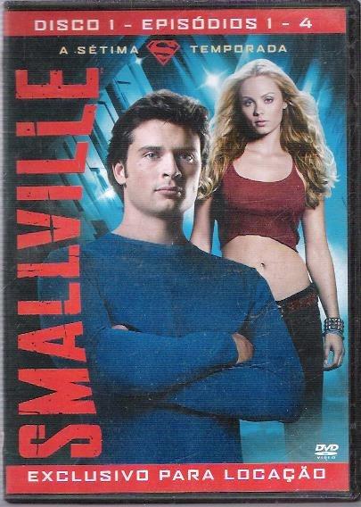 Dvd Smallville A Sétima Temporada Disco 1 Episódios 1-4 (30)