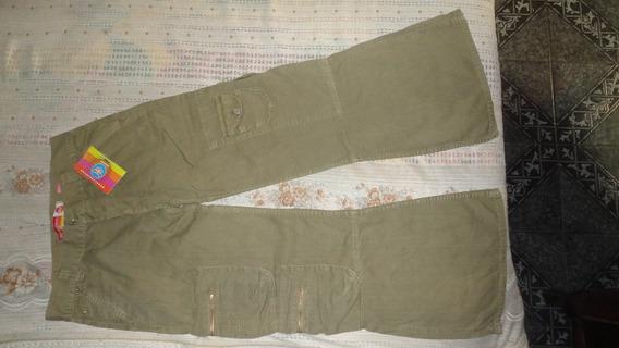 Pantalon Cargo Kosiuko Unisex Color Mate - Nuevo - $ 300