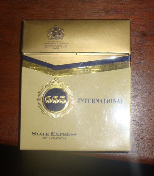 Caja De Cigarrillos 555 International 20´