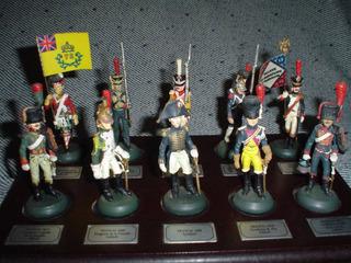 10 Soldados Napoleonicos De Plomo