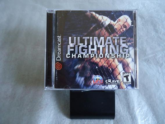 Ultimate Fighting Championship Dreamcast Americano Original