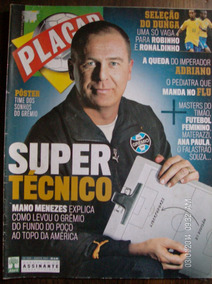 Revista Placar N- 1309 Gremio Mano Meneses Poster Gremio