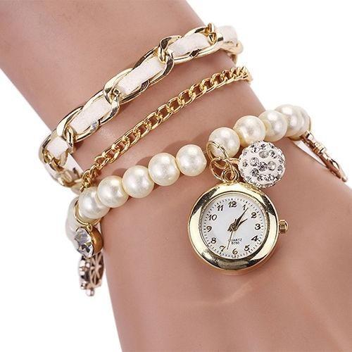 672ccbfeab2a Reloj Pulsera Vintage Hermoso Moda Para Mujer - S  38