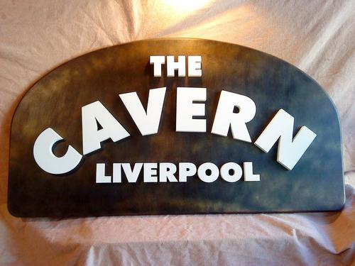 The  Beatles  La Caverna  !!! Cartel Corporeo  80x50 Cm