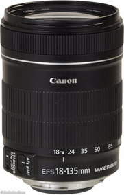 Lente Canon Ef-s 18-135mm F/3.5-5.6 Is Stm Envio Usm